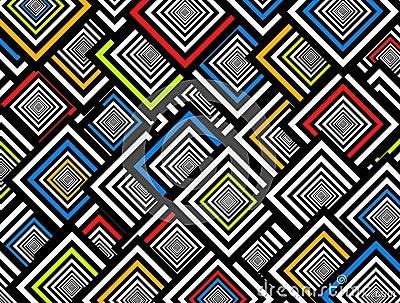 Squares background