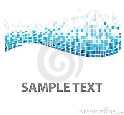 Free Squares Texture Blue Fish Stock Images - 8688794