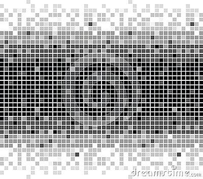 Squares texture mono I