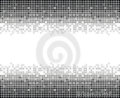 Squares texture mono II