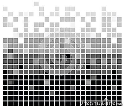 Squares texture mono III