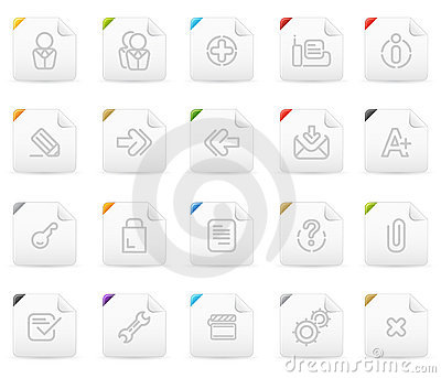 Squaro icon set: Website and Interet #2