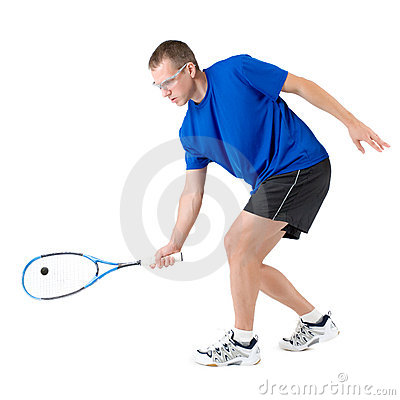 Free Squash Player Stock Photography - 6515312