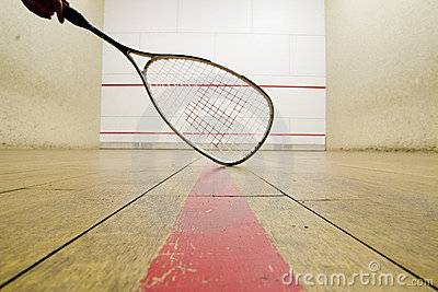 Squash racket Editorial Photography