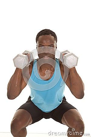 Squat lift weights