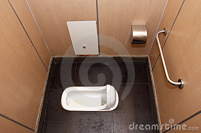 Squat Toilet Bathroom Stall