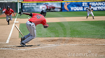 Squeeze play - baseball Editorial Image