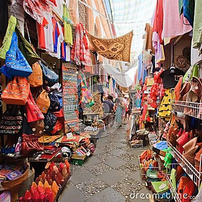 Sreet market in Granada