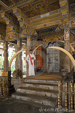 Sri Lanka - Temple of The Tooth in Kandy Editorial Photo