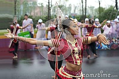 Sri Lankan girl Editorial Photography