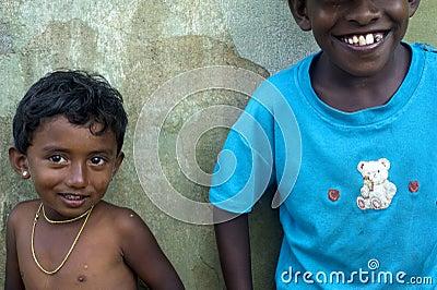 Sri Lankan girl Editorial Stock Image