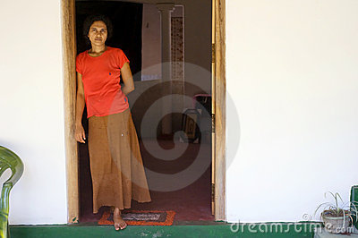 Sri Lankan trader Editorial Stock Photo