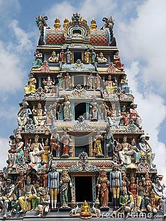 Sri Mariamman Hindu Temple - Singapore