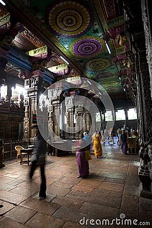 Sri Meenakshi Hindu Temple Editorial Stock Photo