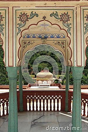 Sri Sudha rani Garden Palace in jaipur.