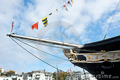 The ss Great Britain in Bristol, UK