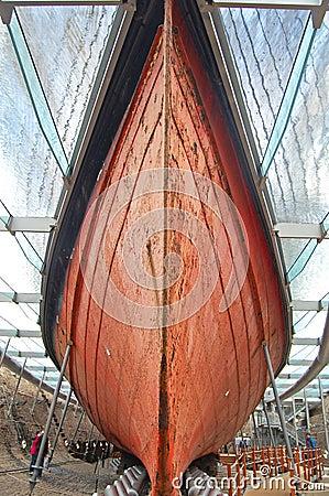 SS Great Britain hull