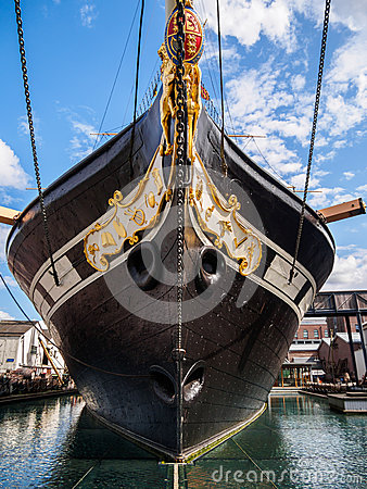 Free SS Great Britain In Bristol, England Stock Photography - 43278922