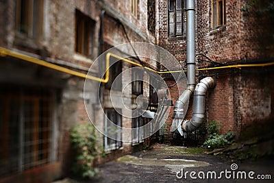 Städtischer Zerfall