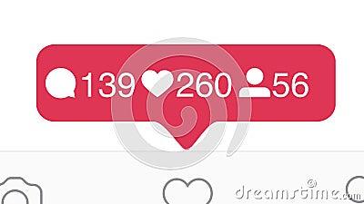 Stäng sig upp av Instagram som, kommentarer, anhängareräknare