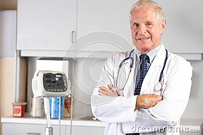 Ståenden av manipulerar i doktors Kontor