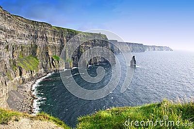 Ståndsmässig ireland för clare klippor moher