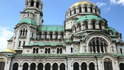 ST Αλέξανδρος Nevsky Cathedral απόθεμα βίντεο