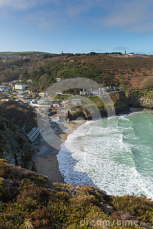 St Agnes Cove North Cornwall England UK