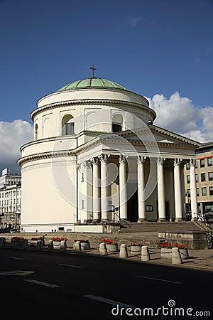St. Alexander s Church in Warsaw (Poland)