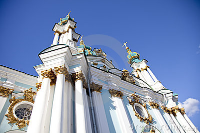 St. Andrew s Cathedral in Kiev