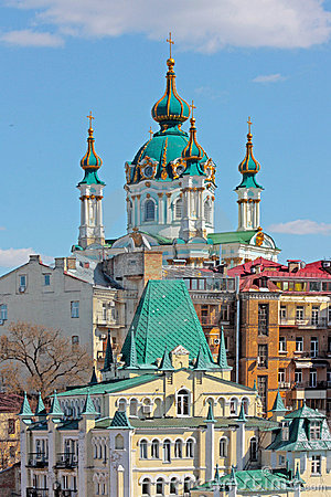 St. Andrew`s Church Kiev