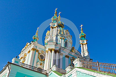 St. Andrew s church in Kiev