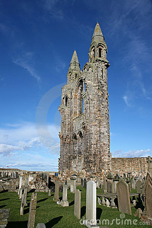Free St Andrews Cathedral Grounds Stock Photos - 8714903