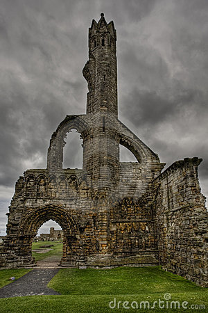 Free St Andrews Cathedral Ruins Royalty Free Stock Photo - 8311715
