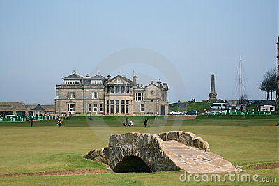 St. Andrews links Editorial Image