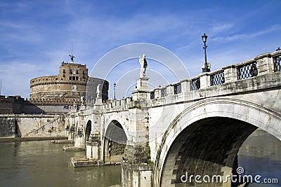 St. Angel Castle in Rome