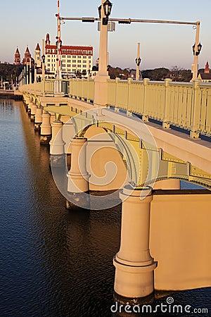 St. Augustine - bridge at sunrise