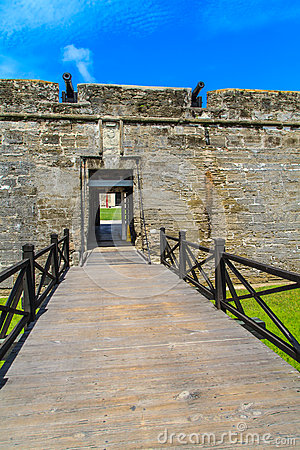 St. Augustine Fort, Castillo de San Marcos National Monument