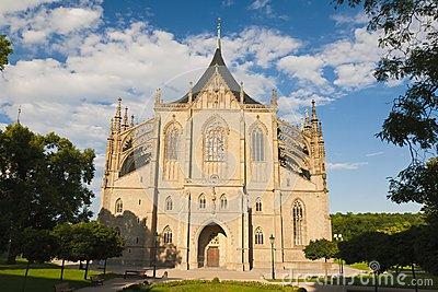 St. Barbara Church Royalty Free Stock Images - Image: 25506459