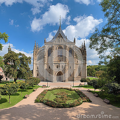 Free St. Barbara S Church In Kutna Hora, Czech Republic Royalty Free Stock Photos - 36434998