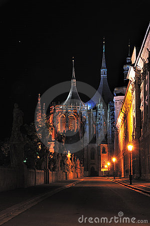 St. Barbora church in Kutna Hora