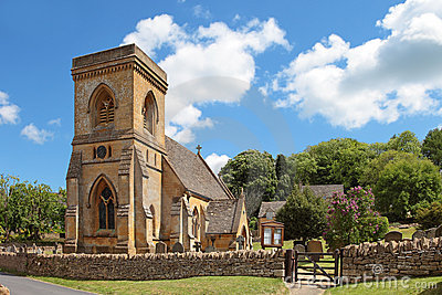 St Barnabas Chruch, Snowshill, Cotswolds