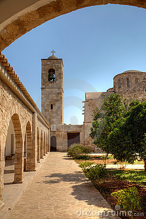 Free St.Barnabas Church In Northern Cyprus Royalty Free Stock Photography - 21339157