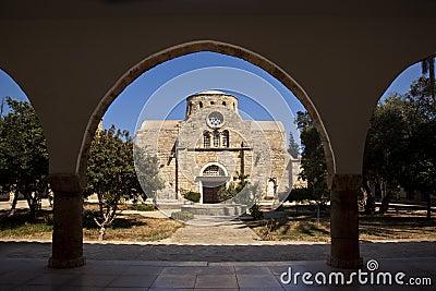 St Barnabas Monastery - Turkish Cyprus