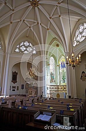 St Bartholomew-the-Less Church in London