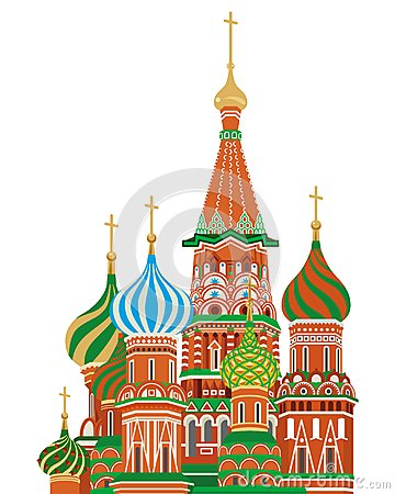 St. basil cathedral,Isolated