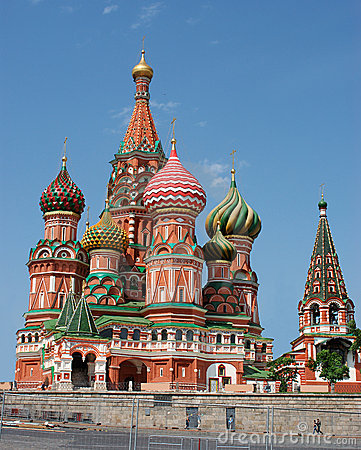 Free St. Basil Cathedral (Kremlin, Moscow, Russia) Stock Photo - 1468130