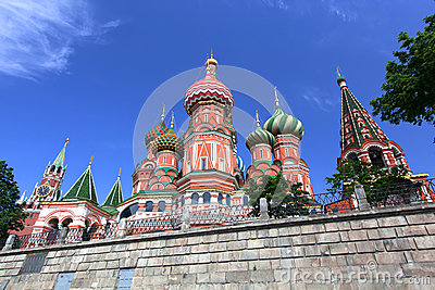 St. Basil Cathedral. Moscow, Russia, Red Square