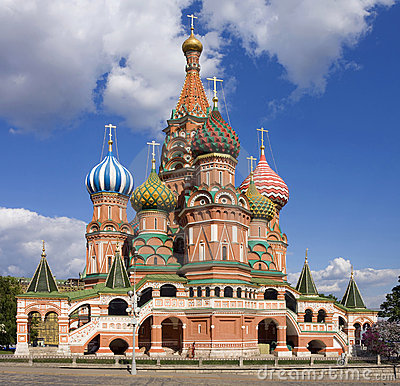 St. Basil Cathedral:  Moscow, Russia,  Red Square