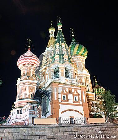 St.Basil Cathedral at Night 2